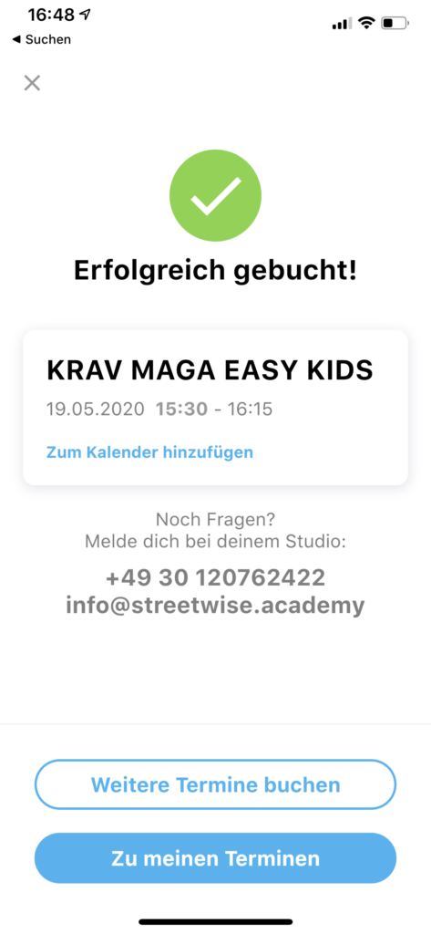 No Excuse Kursbuchung 2 Streetwise Academy Berlin Krav Maga